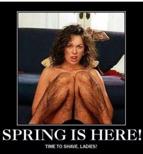 hairy legs spring